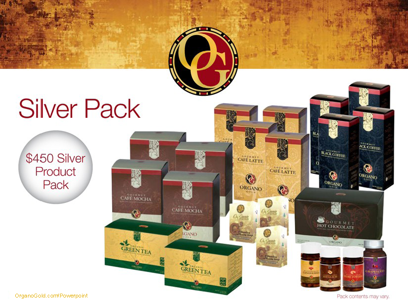 Organo Gold Silver Pack